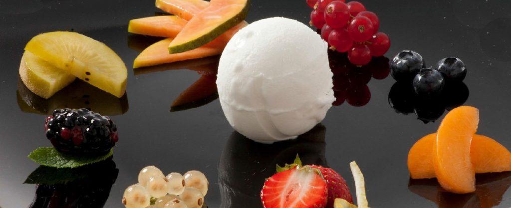 Baza pentru inghetata cu fructe